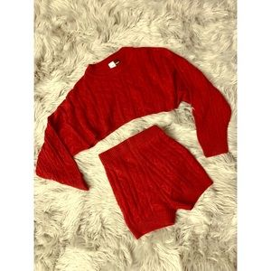 2 piece knit set